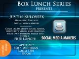 Lunch Box Series: Justin Kulovsek, Friday April20th